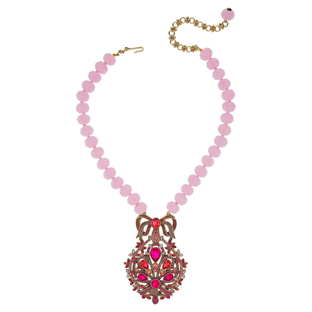 "HEIDI DAUS® ""Filigree Fan"" Crystal Beaded Necklace - Heidi Daus®"