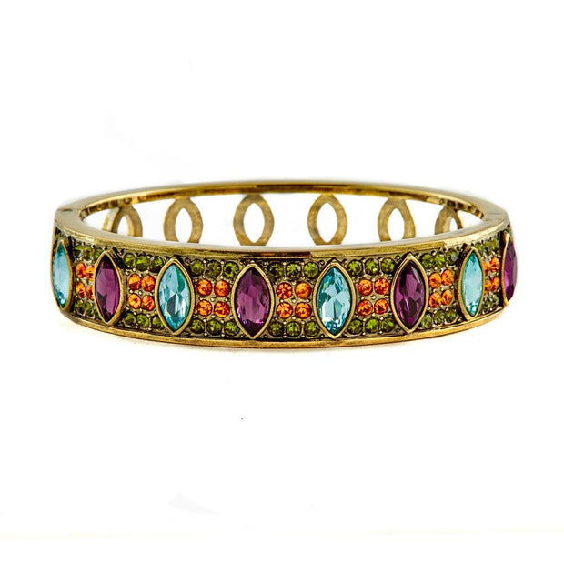 """Armed with Charm"" Crystal Bangle Bracelet"
