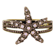 "HEIDI DAUS® ""Sea-Ing Stars"" Crystal Bangle Bracelet - Heidi Daus®"