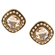 "HEIDI DAUS® ""Etoile Elegance"" Swarovski Button Earrings - Heidi Daus®"