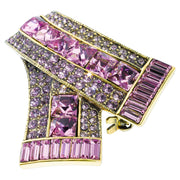 "HEIDI DAUS® ""Keep Sparkling"" Crystal Ribbon Pin - Heidi Daus®"
