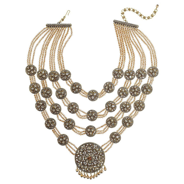 "Heidi Daus® ""Princess of Love"" Beaded Crystal Statement Necklace - Heidi Daus®"