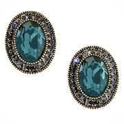 "Heidi Daus® ""Signature Accent"" Swarovski Button Earrings - Heidi Daus®"