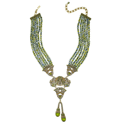 "HEIDI DAUS® ""Duo Drop"" Crystal Beaded Necklace - Heidi Daus®"