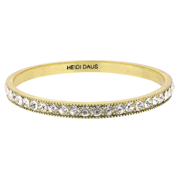 "HEIDI DAUS® ""Pave Bangle"" Crystal Bangle Bracelet - Heidi Daus®"