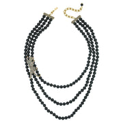 "HEIDI DAUS® ""Pretty Panther"" Crystal Beaded Panther Necklace - Heidi Daus®"