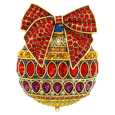 "HEIDI DAUS® ""Season Of Splendor"" Crystal Beaded Ornament Pin - Heidi Daus®"