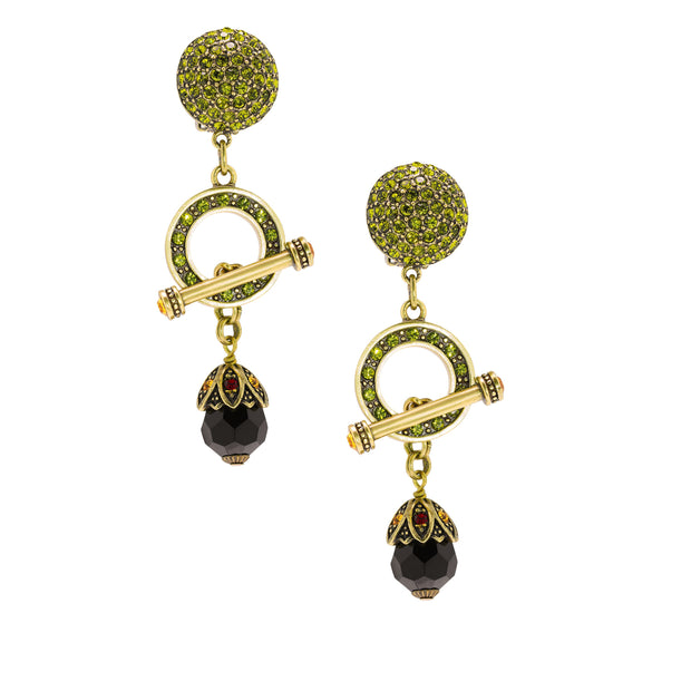 """Let Me Count the Ways"" Crystal Drop Earring - Heidi Daus®"