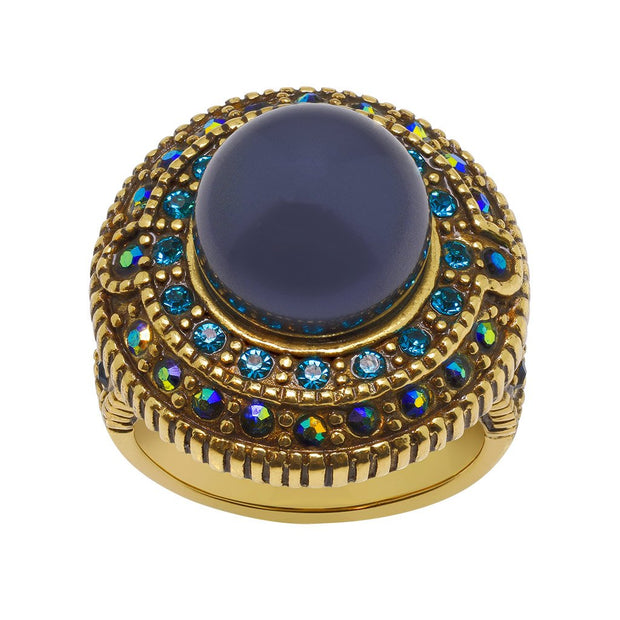 "HEIDI DAUS® ""Sparkling Tradition"" Crystal Beaded Ring - Heidi Daus®"