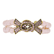 "HEIDI DAUS® ""Sparkle Strong"" Beaded Crystal Ribbon Toggle Bracelet - Heidi Daus®"