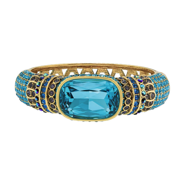 """Single Hit"" Crystal Bangle Bracelet - Heidi Daus®"