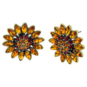 "HEIDI DAUS® ""Divine Miss Daisy"" Crystal Button Earrings - Heidi Daus®"