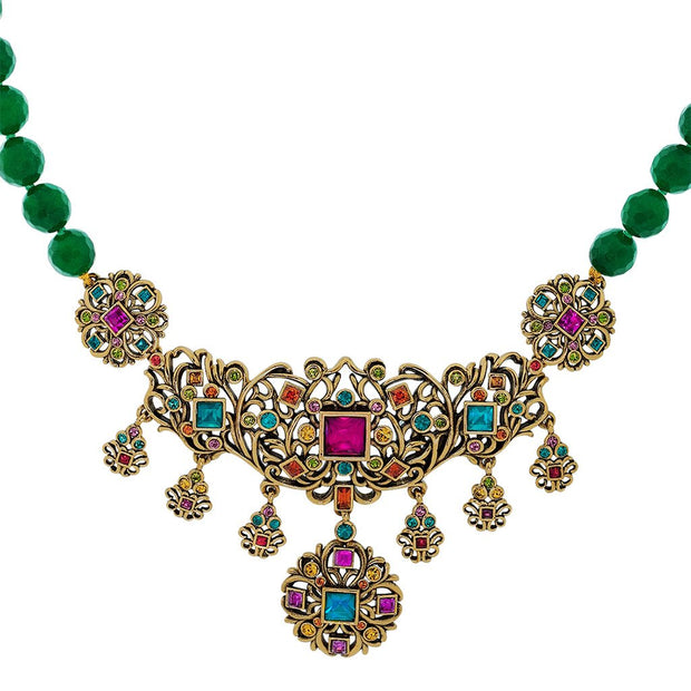 """Crown Collection"" Crystal Beaded Necklace - Heidi Daus®"
