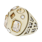 "HEIDI DAUS® ""Winning Combination"" Crystal & Enamel Ring - Heidi Daus®"