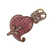"HEIDI DAUS® ""Be Still My Heart"" Crystal Heart Pin - Heidi Daus®"