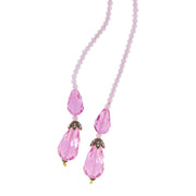"HEIDI DAUS® ""Sleek Chic"" Beaded Crystal Lariat Necklace - Heidi Daus®"