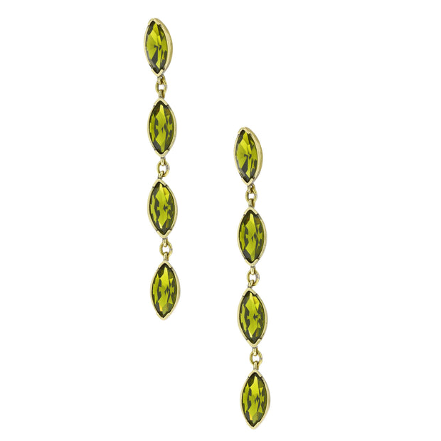 "HEIDI DAUS® ""Marquise Madness"" Crystal Drop Earrings - Heidi Daus®"