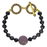 "HEIDI DAUS® ""Delightful"" Crystal Beaded Toggle Bracelet - Heidi Daus®"