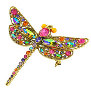 """Darling Daring"" Crystal Dragonfly Pin - Heidi Daus®"