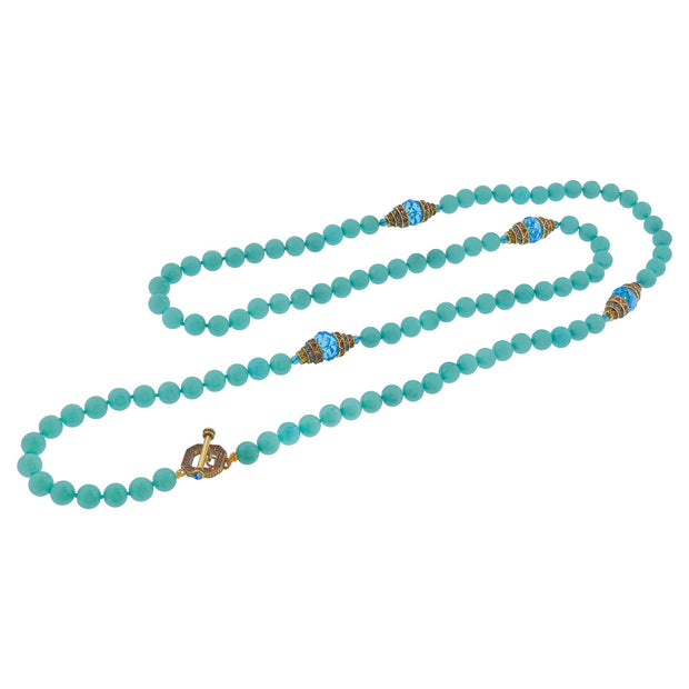 "HEIDI DAUS® ""Countless Ways"" Beaded Crystal Toggle Necklace - Heidi Daus®"