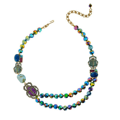"HEIDI DAUS® ""Love Bug"" Crystal Beaded Beetle Necklace - Heidi Daus®"