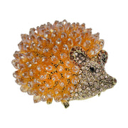 """Huggable Hedgie"" Crystal Beaded Pin - Heidi Daus®"