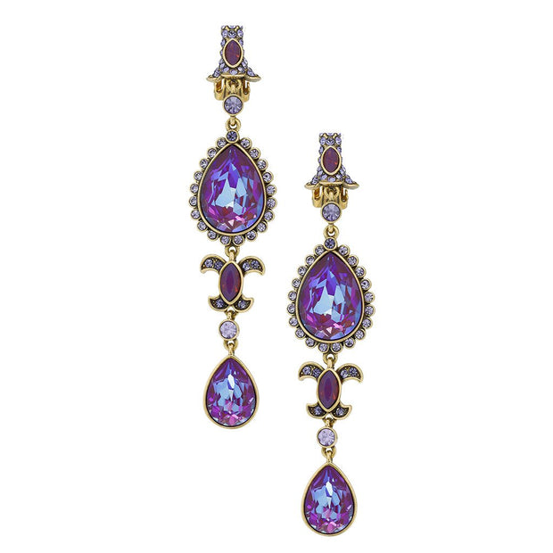 "HEIDI DAUS® ""Pear-fection"" Crystal Deco Drop Earrings - Heidi Daus®"