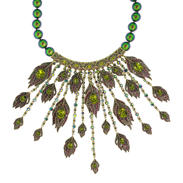 "HEIDI DAUS®""Strut Your Stuff"" Swarovski Crystal Beaded Necklace - Heidi Daus®"