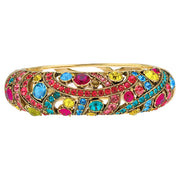 "Heidi Daus® ""Perfect Bracelet"" Crystals Bangle Bracelet - Heidi Daus®"
