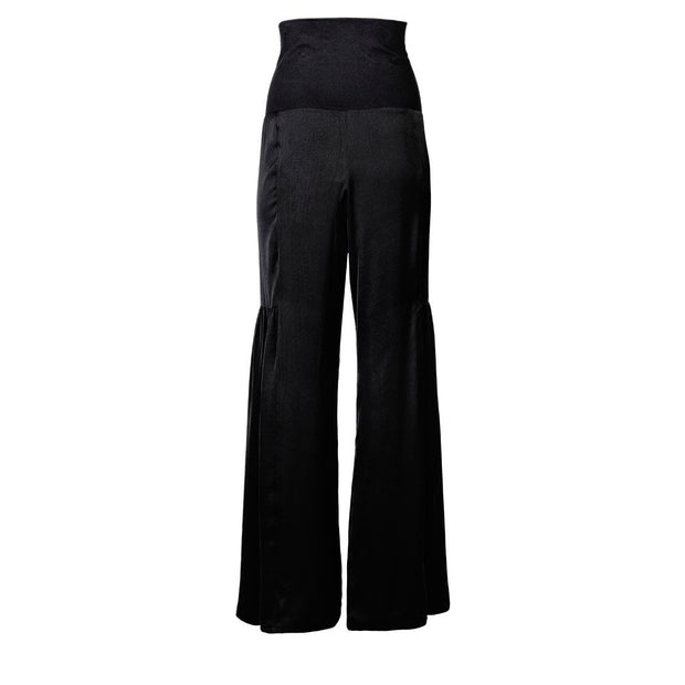 HEIDI DAUS® Coco Classic Black Palazzo High Waisted Pull-On Pants - Heidi Daus®