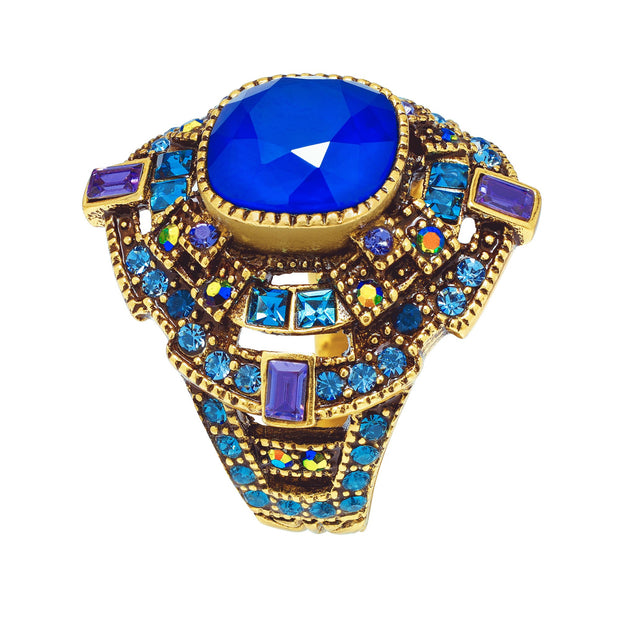 """The Regent"" Crystal Ring - Heidi Daus®"