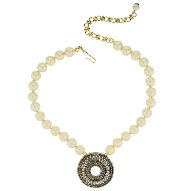 "HEIDI DAUS® ""Baguette Bliss"" Crystal Beaded Drop Necklace - Heidi Daus®"