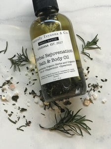 "Herbal ""Rejuvenation"" Bath & Body Oil"