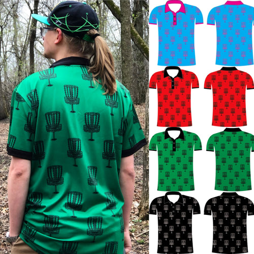 Disc Golf Polo Shirt Presale (4 colorways)