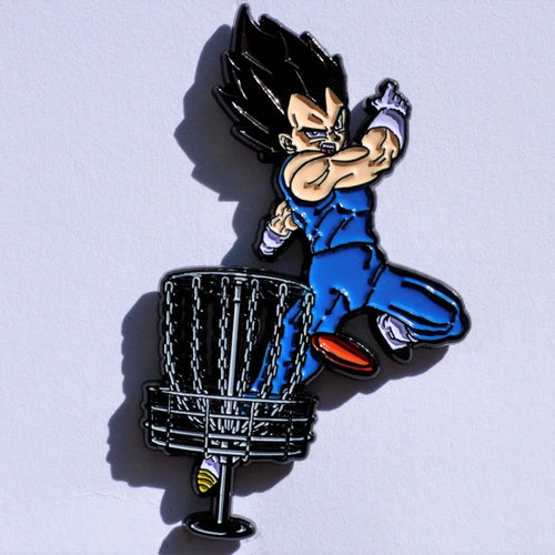 Vegeta Disc Golf Pin