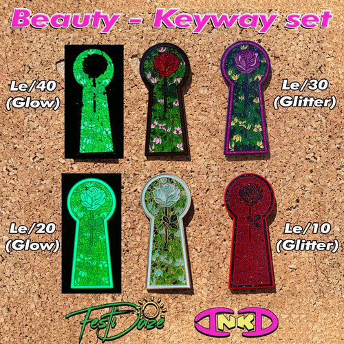 Beauty Keyway Pins (INKD)