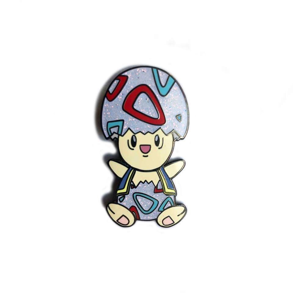 Toad Togepi mashup Pin