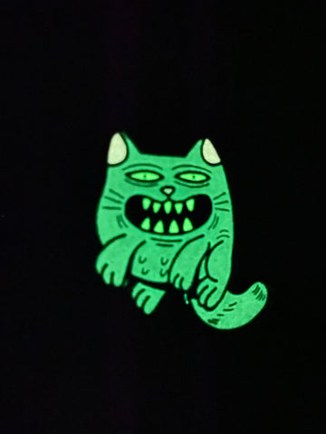Cool Kitten Enamel Pin (Lurk)