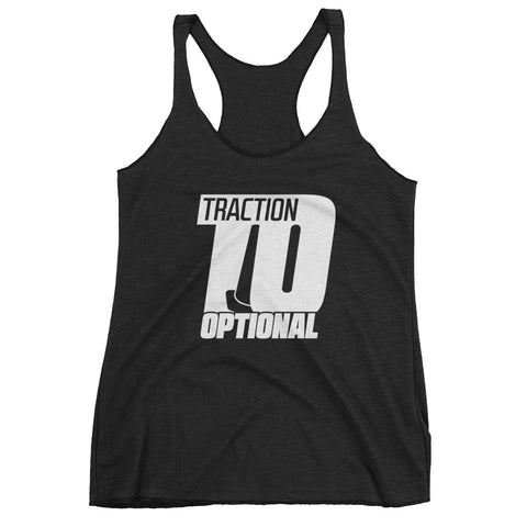 Traction Optional - Women's Racerback Tank