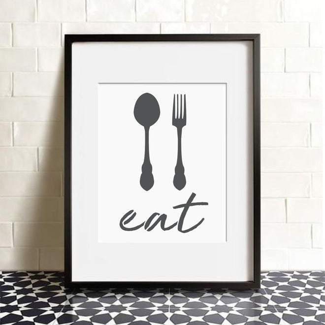 Cooking Craft Stencils