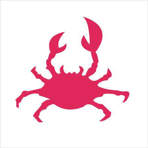 Crab Shape Craft Stencil