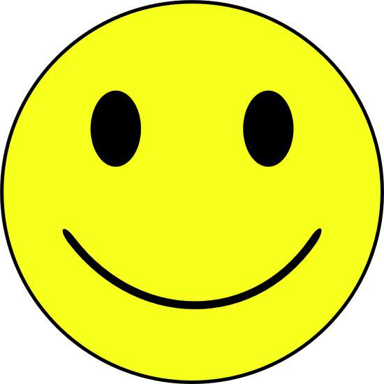 Happy smiley face for Smile templates