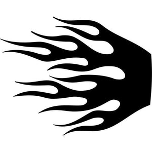 Wildfire Flame Stencil