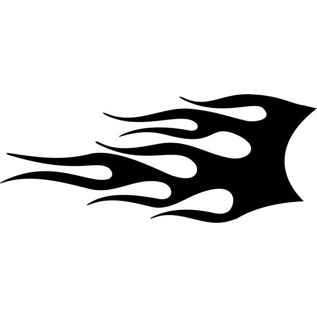 Searing Flame Stencil