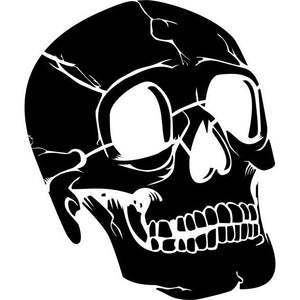 Human Skull Stencil by Crafty Stencils