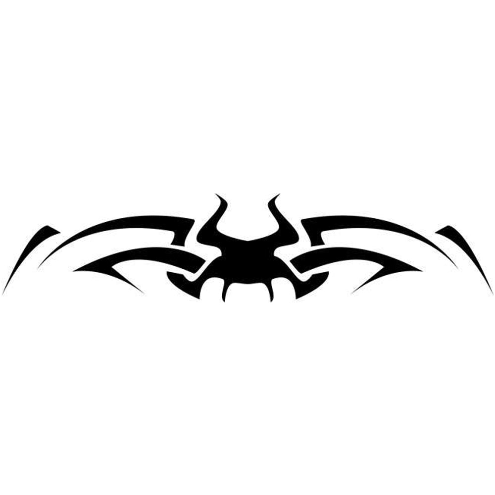 Spider Tribal Tattoo Stencil