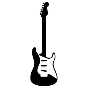 Electric Guitar Stencil by Crafty Stencils