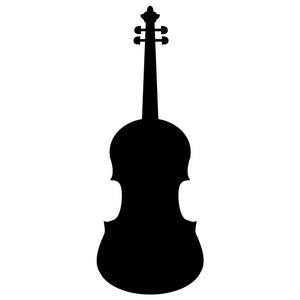 Violin Stencil by Crafty Stencils