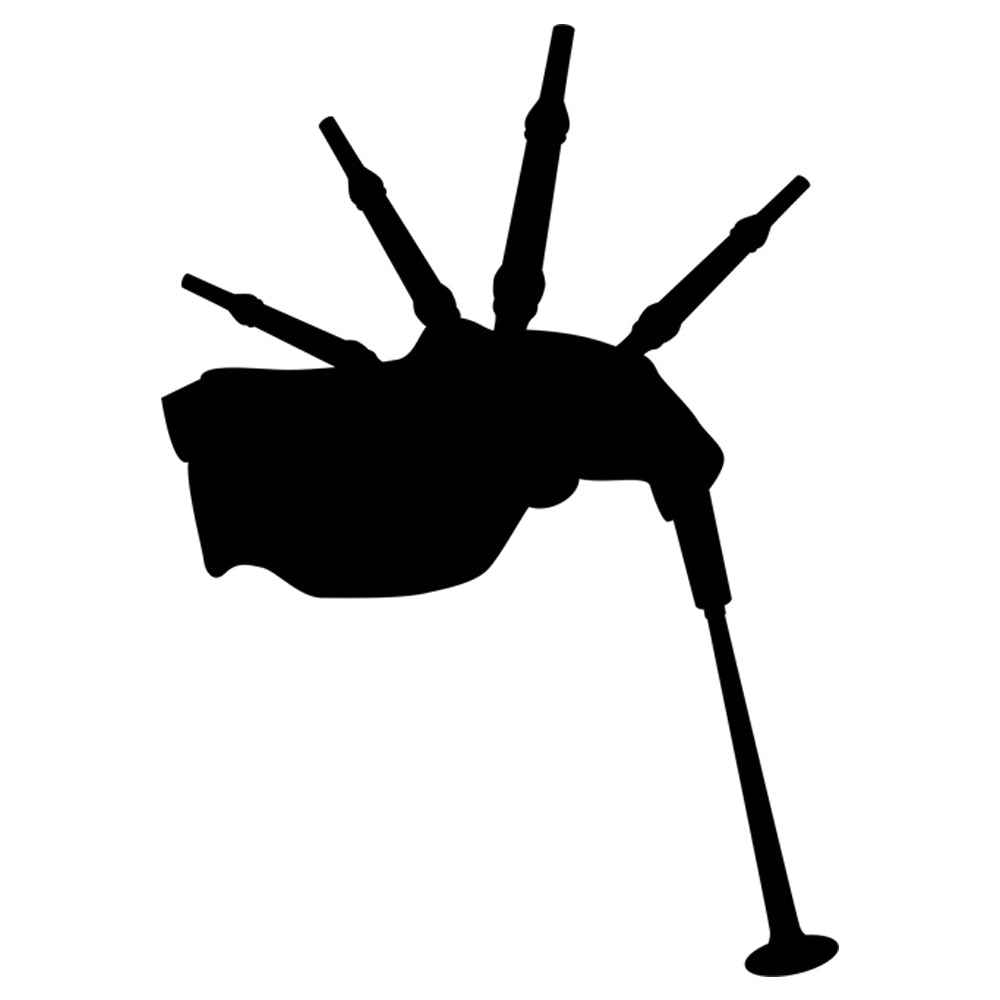 Bagpipe Stencil by Crafty Stencils