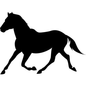 Cantering Horse Stencil